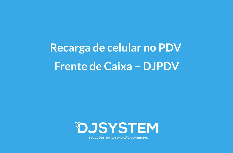 Recarga de celular PDV